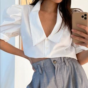 SUNDAY BEST NEW SOLITAIRE BLOUSE
